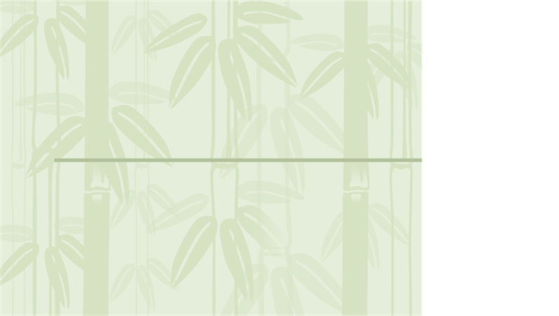 "Designvorlage ""Bambus2"""