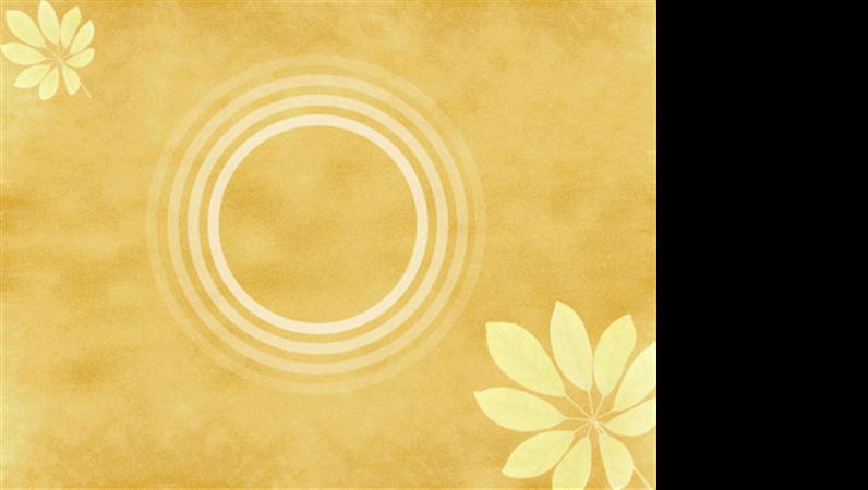 "Designvorlage ""Mimose"""