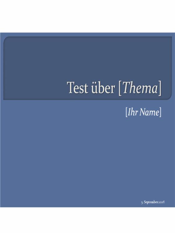 Multiple-Choice-Test (4Antworten)