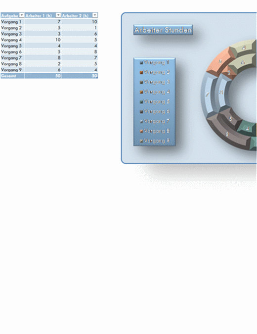 Ringdiagramm 21. Jahrhundert