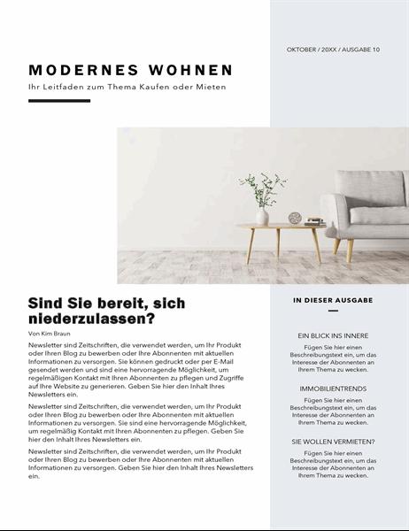 Newsletter für Immobilienmakler
