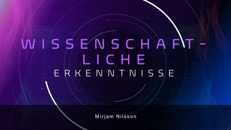 Präsentation für wissenschaftliche Ergebnisse