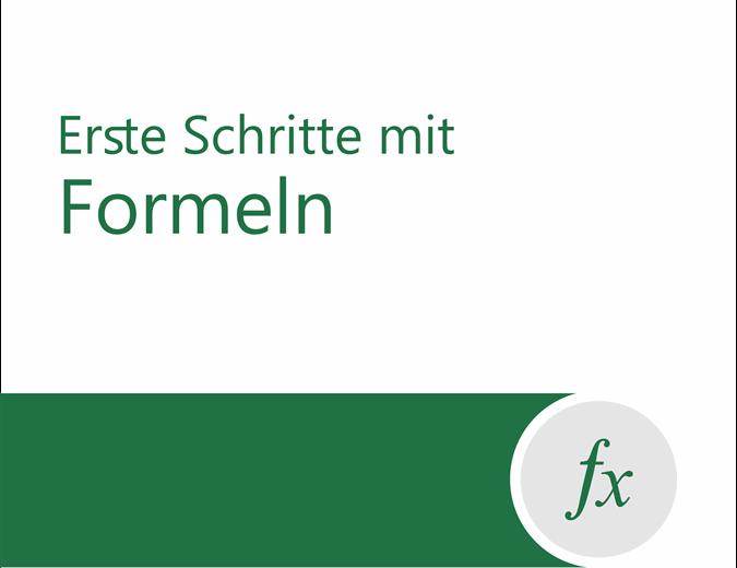Formel-Tutorial