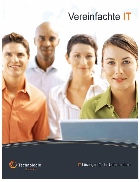 Poster für Technologiebranche (vertikal)