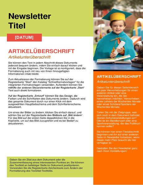 Schul-Newsletter