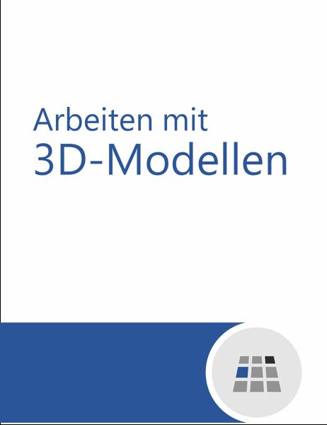 Arbeiten mit 3D-Modellen in Word