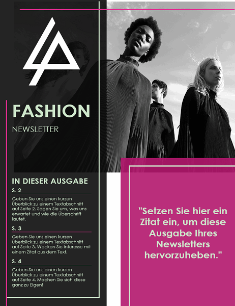 Fashion-Newsletter
