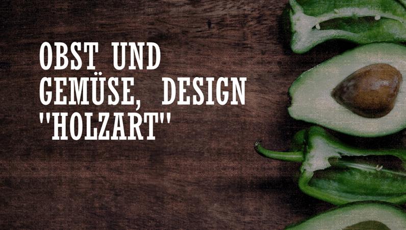 """Design """"Landwirtschaftliche Erzeugnisse"""""""