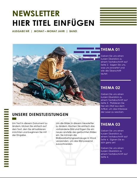 Reise-Newsletter