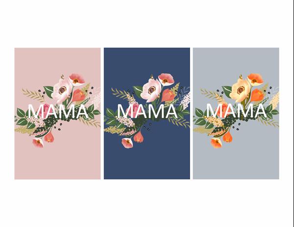 Schöne Muttertagskarte