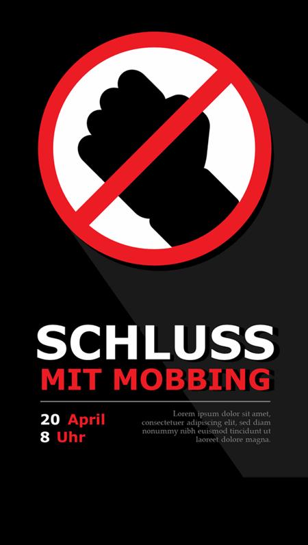 Unterstützende Poster