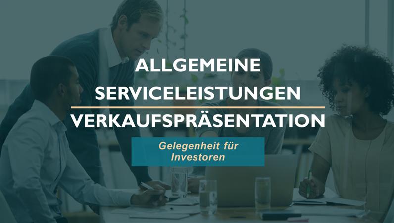 Vorlagen für Verkaufspräsentationen für professionellen Dienstleistungen