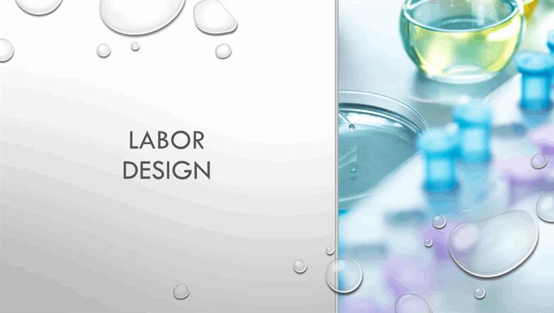 """Design """"Tröpfchen"""" für Labors"""
