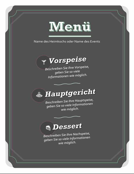 Standard-Menü