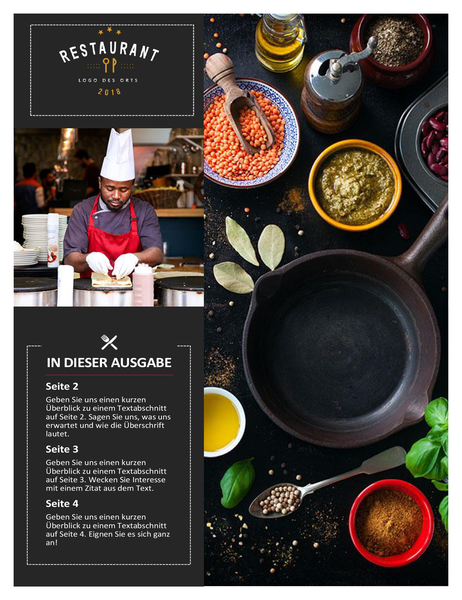 Restaurantnewsletter