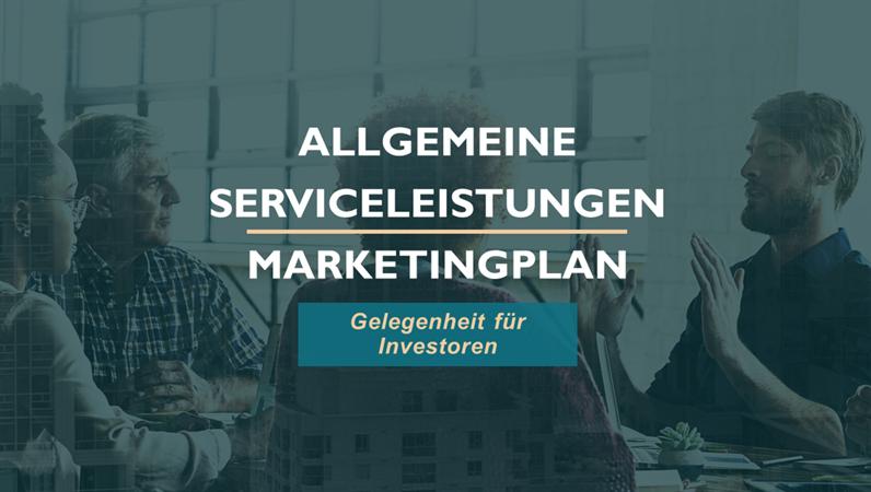 Marketingplan für professionelle Dienstleistungen