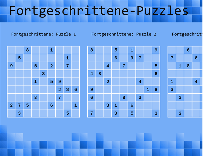 Sudoku-Spiel
