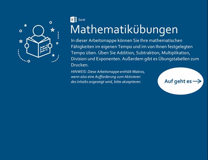 Mathematikübungen