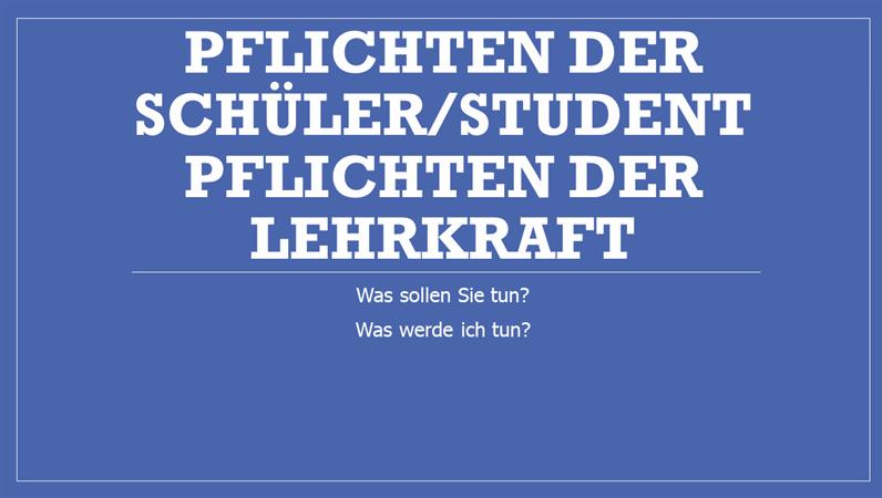 Schüler/Lehrer