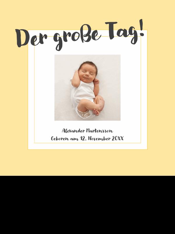 Fotoalbum für Baby-Meilensteine
