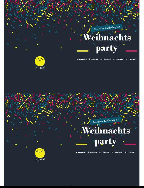 Einladung zur einer Party