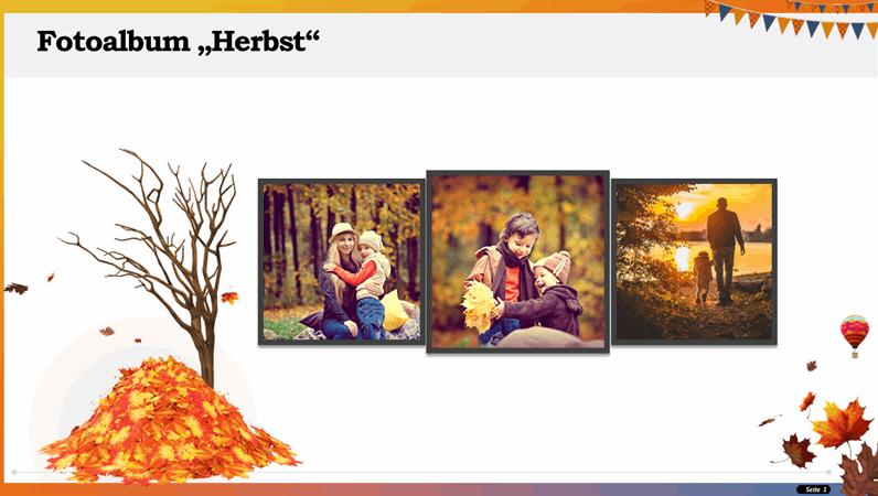 """Fotoalbum """"Herbst"""""""