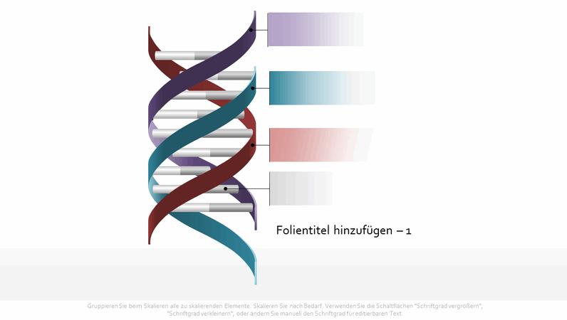 Tripelhelix-DNA-Grafik
