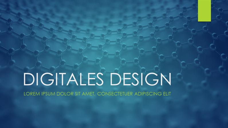 """Design """"Ion"""" für digitale Projekte"""