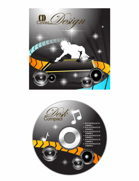 CD/DVD Etiketten