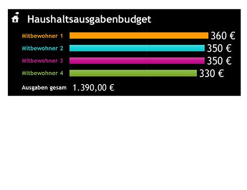 Haushaltsausgabenbudget