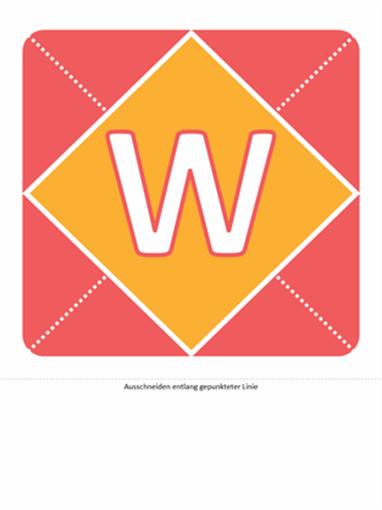 """Banner """"Willkommen, kleines Mädchen"""" (rosa, gelb, grün)"""