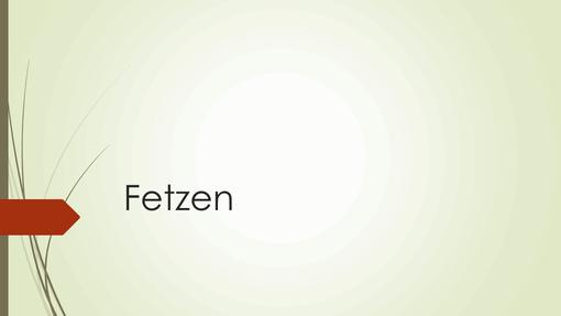 Fetzen
