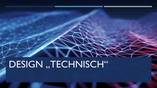 "Design ""Technisch"""