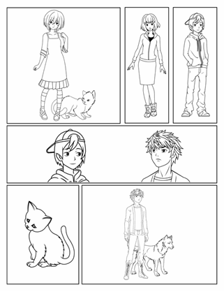 Manga-/Comic-Buch