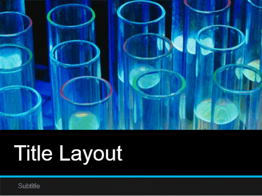 Laboratory science presentation (widescreen)