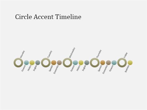 Event timeline diagram slide (widescreen)