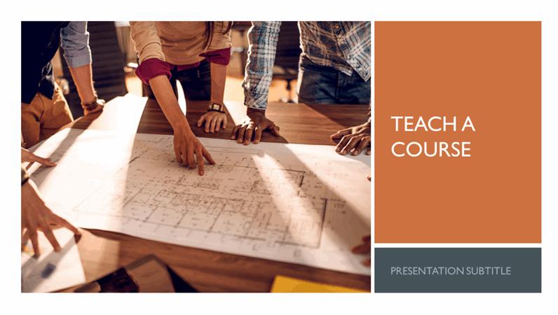 Classic corporate teach a course
