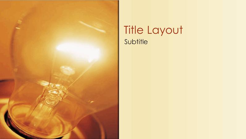 Idea design slides