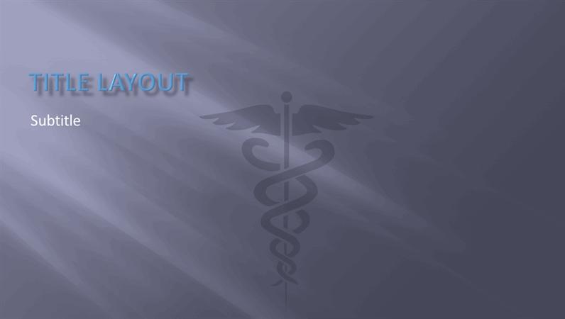 Medical presentation design slides