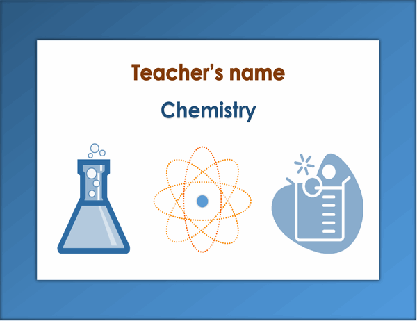 Lesson sign (chemistry)