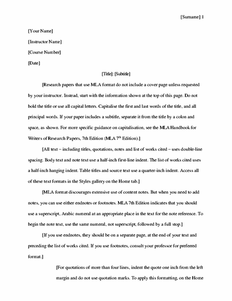 MLA-style research paper