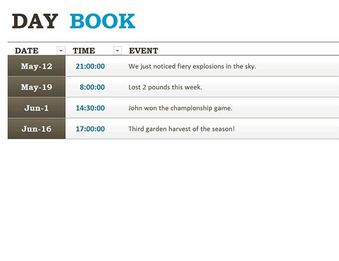 Generic logbook