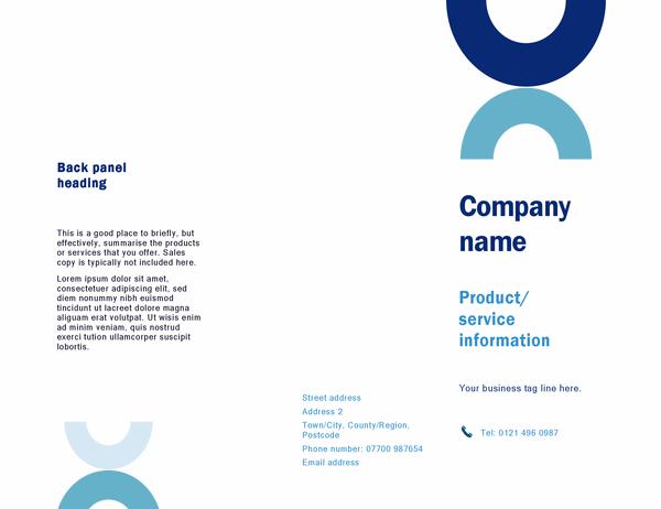 Brochure (Arc design)