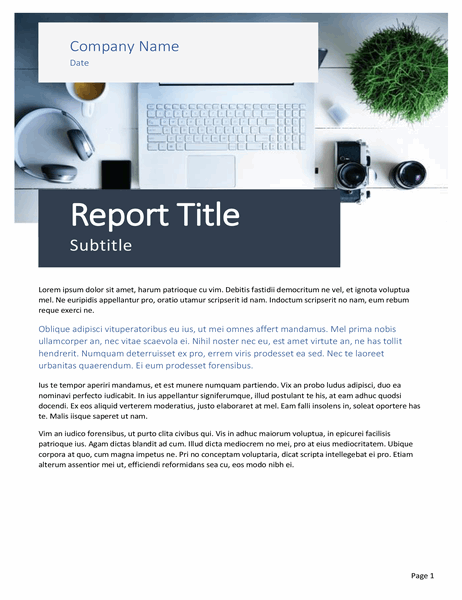 Report (Origin theme)