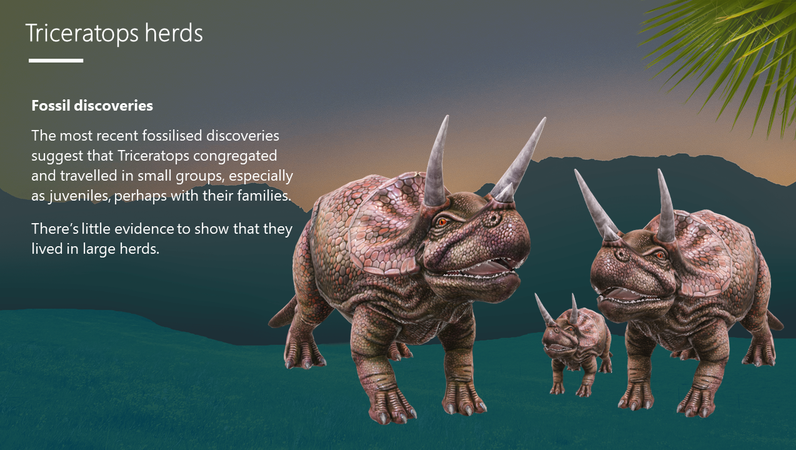 Triceratops – The three-horned dinosaur