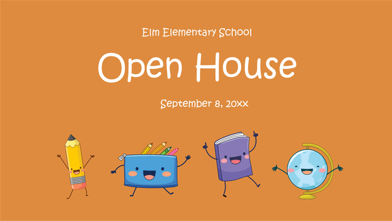 Open house presentation