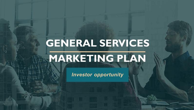 Professional services marketing plan