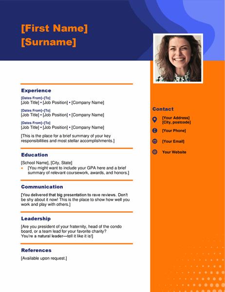 Headshot CV