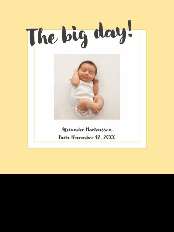 Baby milestones photo album