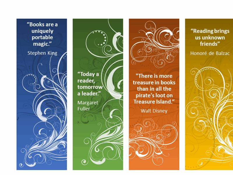 Modern bookmarks